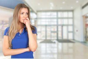 PTSD treatment options - woman mulling choices.
