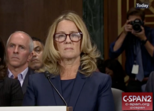 PTSD Kavanaugh hearing Blasey Ford sexual assault